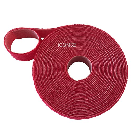 Klettverschluss Velcro® Haken- und-Loop one-wrap ® One Wrap Double Sided Umreifung in rot 2cm breit
