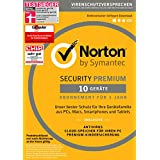 Norton Security Premium | 10 Geräte | PC/Mac/Smartphone/Tablet | Download