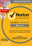 Software - SYMANTEC Norton Security Premium (10 Geräte - PC, Mac, Smartphone, Tablet)