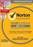 SYMANTEC Norton Security Premium (10 Geräte - PC, Mac, Smartphone, Tablet)