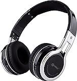 Contixo KB2600 Kid Safe 85db Pliable Sans Fil Bluetooth Casque Intégré Microphone, Lecteur De Carte Micro SD, FM Stéréo Radio (Noir)