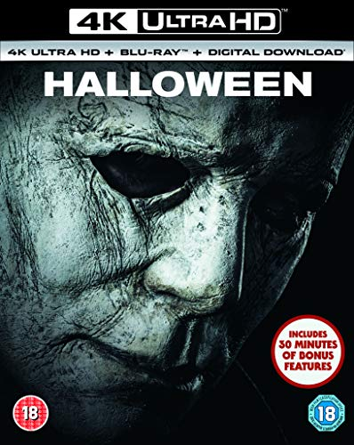 Universal Pictures - Halloween 4K Ultra HD + Blu-Ray (1 BLU-RAY) (2019 Halloween Film-dvd)