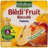 Pommes Blédina Et Biscuit (6 Mois) 4 X 100G - Paquet de 6