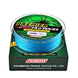4 Stränge 100 M Gewebte Angelschnur Gelb/Blau / Rot/Grau / Grün 5 Farben 0,4# -10#