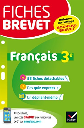 Français 3e : Nouveau brevet par From Hatier