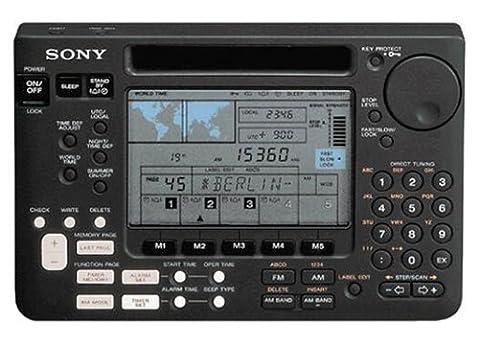 Radio Sony Icf - Sony iCF-récepteur mondial