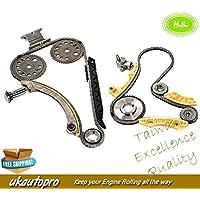 HJL Kit de Cadena de sincronización + Kit de Eje de Equilibrio para Opel/Vauxhall