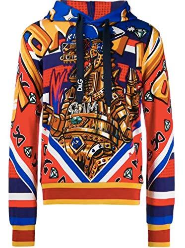 DOLCE E GABBANA Herren G9of9thh7lihhj48 Rot Baumwolle Sweatshirt