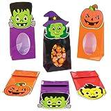 Baker Ross Halloween-Tüten als lustiges Spielzeug für Kinder zum günstigen Preis – perfekt als kleine Party-Überraschung für Kinder zu Halloween (8 Stück)