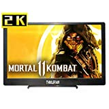 13,3 Pouces Moniteur Portable 2k 2560×1440 Ecran Gaming IPS avec Double HDMI Moniteur Haut-parleurs Intégrés pour PS4 PS3 Xbox Switch Raspberry Pi Windows 7/8/10 PC Laptop, Thinlerain