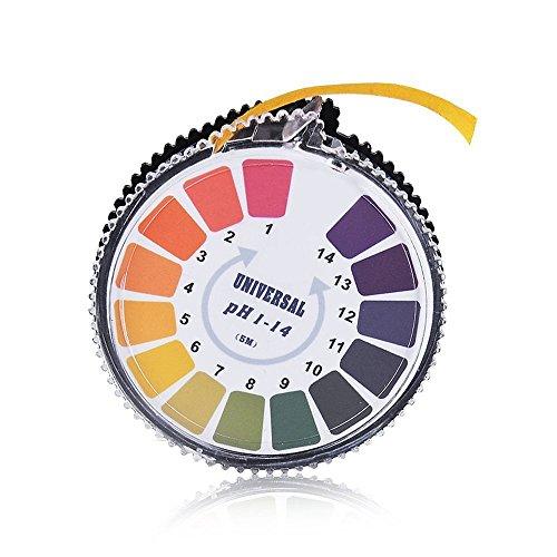 pH-Indikator Lackmus-Test Papier-Streifen Roll, 1-14 Für Wasser Urin und Speichel - 5 Meter Test