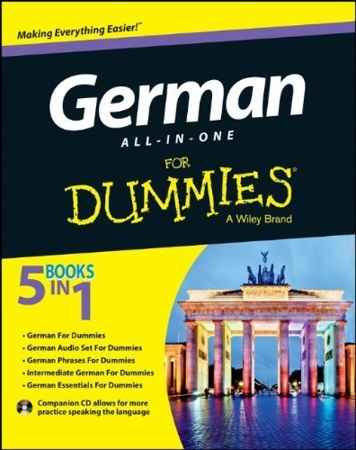 German All-in-One For Dummies, with CD 1st by Consumer Dummies (2013) Paperback