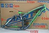 Nuevo de alta calidad aleación de aluminio de 26pulgadas marco bicicleta Down Hill Full Suspensión bicicleta marco