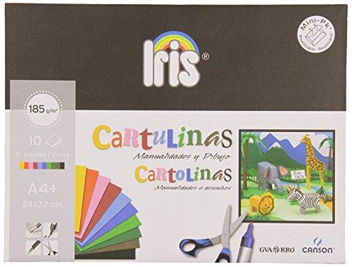 Canson 200406282 - Pack de 10 hojas de cartulina, A4+, 185 g