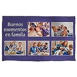 Lolapix Warme Decke personalisiert mit Ihrem Foto, Design oder Text. Einzigartiges, originelles Verschiedene Größen zur Auswahl. Größe 120x200cm