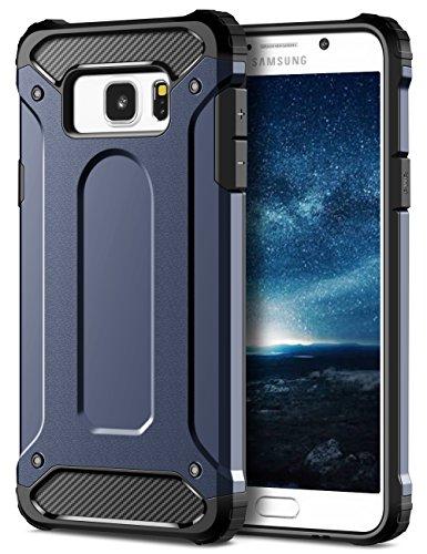 Galaxy Note 5Custodia, Coolden Heavy Duty per carri armati Galaxy Note 5per cellulare morbido gomma & Hard PC Cover con flessibilità Shock Assorbimento Ammortizzatore per Galaxy Note 5