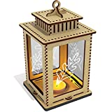 'Oak Leaf' Clear Candle Lantern / Tea Light - Best Reviews Guide