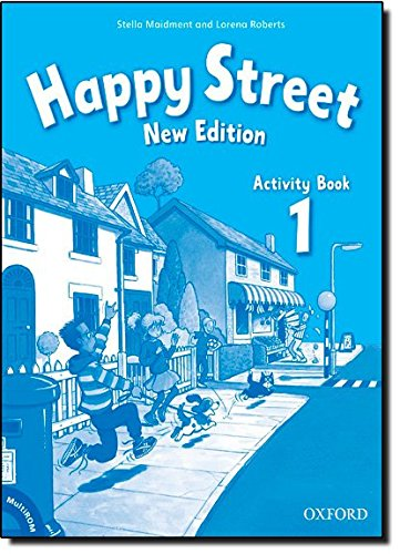 Happy Street 1: Activity Book and MultiROM Pack New Edition (Happy Second Edition) - 9780194731096
