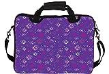 Snoogg Small Butterflies Purple Pattern 12