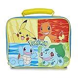 Pokémon Lunch Box avec Pikachu Bulbizarre, Salamèche et Carapuce   Sac Isotherme Repas Déjeuner Portable   Sac Isotherme Lunch Bag pour École, Travail, Voyage   Cadeau Garçon