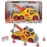 Unbekannt Dickie 33cm Kinder Spielzeug LKW Abschleppwagen Funktionen Truck Spielzeugautos