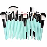 Make-up Pinsel,Binggong 25pcs Kosmetik Make-up Pinsel Rouge Lidschatten Pinsel Set Kit Exquisit Geschenk Pinselset Premium Pinselhaare Gesicht Pulver Pinsel (18x14x2cm, Mehrfarbig A)