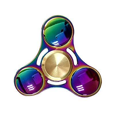 Ansbro Fidget Spinner, Best Tri-Spinner Finger Spielzeug, Super Haltbare Hand Spinner Nicht 3D-Printed Pefekt für Autismus und Zeit-Töten