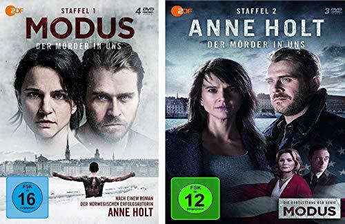 Anne Holt / Modus - Der Mörder in uns Staffel 1+2 im Set - Deutsche Originalware [7 DVDs]