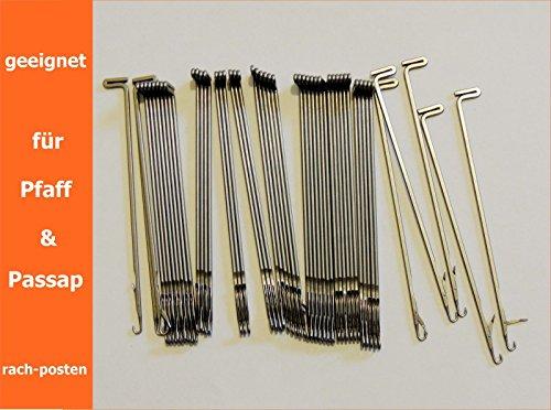 50x Ersatz Nadeln für Passap & Pfaff Strickmaschinen Zubehör Knitting machine