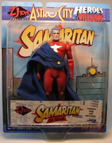 astro-city-heroes-villains-samaritan-premiere-6-1-2-poseable-action-figure-with-flowers-newspaper-by