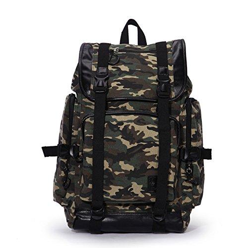 Outdoor-rucksack/Koreanische Taschen/Mode Masse Wellenpaket-A A