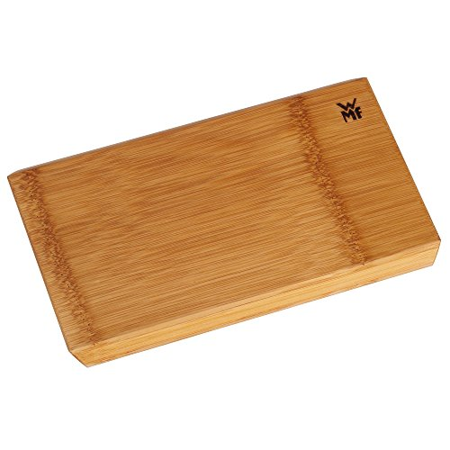 WMF Edge Schneidebrett, Bambus Holz natur, rechteckig klingenschonend, 24 x 16 - Schneidebrett-24 18 X