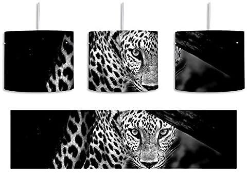 Monocrome, Neugieriger Gepard inkl. Lampenfassung E27, Lampe mit Motivdruck, tolle