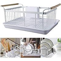H-sunshy Escurridor de Platos de Cocina Secador de esponjas Fregadero  Titulares de cestas Organizador c05451fa7d9f