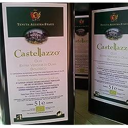 Olio extravergine di oliva biologico siciliano Castellazzo
