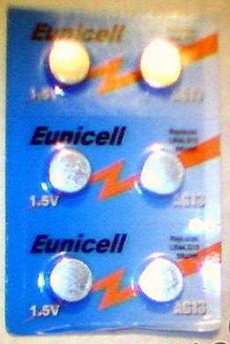Eunicell AG13 Lot de 6 piles [Camera]