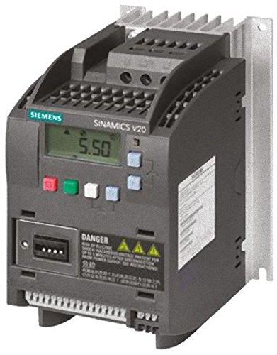 Preisvergleich Produktbild Siemens Indus.Sector Umrichter Sinamics 6SL3210-5BB13-7AV0 0,37kW mit Filter Frequenzumrichter =< 1 kV 6940408102972