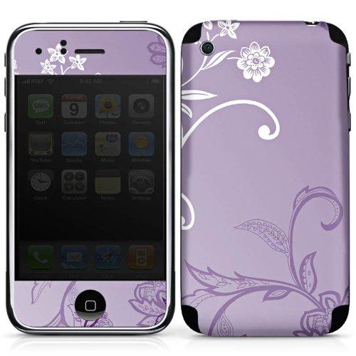 DeinDesign Apple iPhone 3Gs Folie Skin Sticker aus Vinyl-Folie Aufkleber Ranken Flowers Blumen