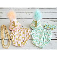 Twins Cake smash outfit - First birthday Baby boy & Girl set