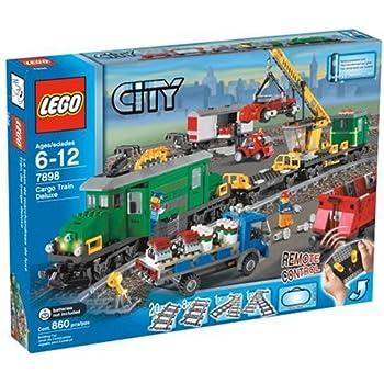 lego city 3677 7499 7895 7937 le train de marchandises super set jeux et jouets. Black Bedroom Furniture Sets. Home Design Ideas