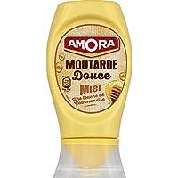 Amora Moutarde douce miel Le pot de 260g - Prix Unitaire - Livraison Gratuit Sous 3 Jours