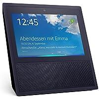 Echo Show (1. Generation), Intelligenter Lautsprecher mit 7-Zoll Bildschirm und Alexa - schwarz