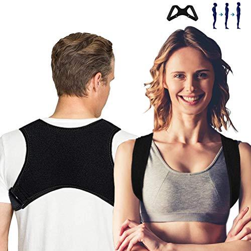 Xpassion Geradehalter zur Haltungskorrektur - Rückenbandage für Rückenstütz, Rückentrainer Schultergurt Posture Corrector Schultergurt gegen Nacken, Rücken, Schulterschmerzen, Größenverstellbar