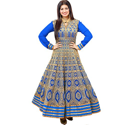 Vasu Saree Ayesha Takia Blue Color Designer Party Wear Salwar Kameez In...