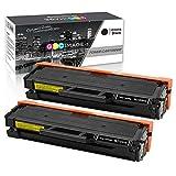 GPC Image MLT-D101S, 2 Schwarz Toner Kompatibel für Samsung MLT-D101S/ELS für Samsung ML-2160 ML-2165 ML-2165W ML-2168 SCX-3405W SCX-3405F SCX-3405 SCX-3405FW SCX-3400 SCX-3401 SF-760P Laser Drucker