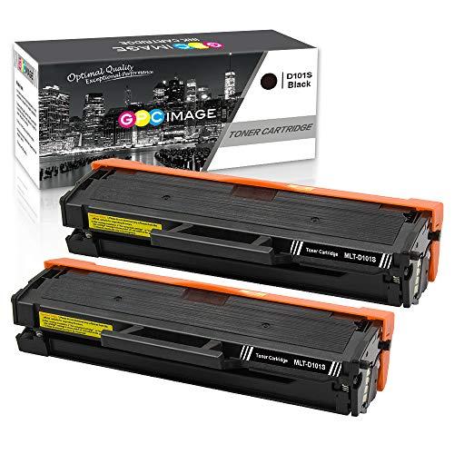 Gpc image cartucce toner compatibili per samsung mlt-d101s d101s (2 nero) per samsung ml-2160 ml-2165 ml-2165w ml-2168 scx-3405w scx-3405f scx-3405 scx-3405fw scx-3400 scx-3401 sf-760p, 1500 pagine