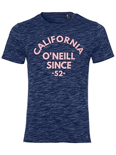 O'Neill Sunset–Camiseta de streetwear Camiseta y blusa, hombre, Sunset t-shirt, Atlantic Blue, medium