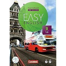 Easy English: B1: Band 1 - Kursbuch - Kursleiterfassung: Mit Audio-CD und Video-DVD