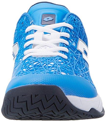 Lotto Sport Viper Ultra Iii Spd, Chaussures de Tennis Homme Bleu (Blu Atl/wht)