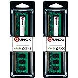 QUMOX Memoria DIMM para Desktop 4GB(2x 2GB) DDR2 800MHz PC2-6300 PC2-6400 DDR2 800 (240 PIN)